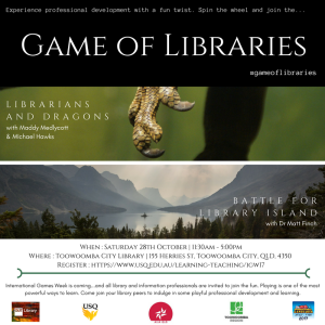 Game of Libraries promotional material